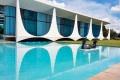 Palácio da Alvorada mostra traços característicos da obra de Niemeyer. - DIVULGAÇÃO