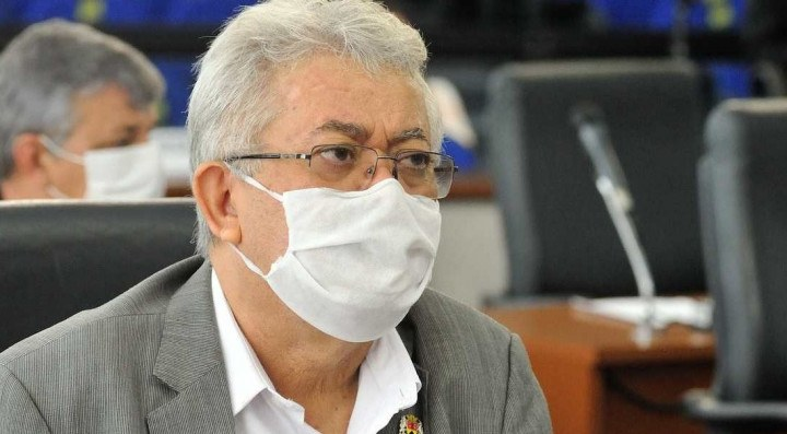 Vereador Luis Santos (Republicanos).