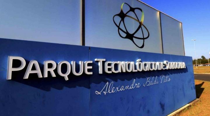 Fachada do Parque Tecnológico de Sorocaba (PTS).