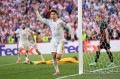 ...mas o mesmo não se pode dizer do espanhol Morata. - STUART FRANKLIN / AFP