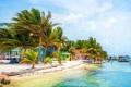 Um dos paraísos caribenhos, Belize também recebe brasileiros. - DIVULGAÇÃO
