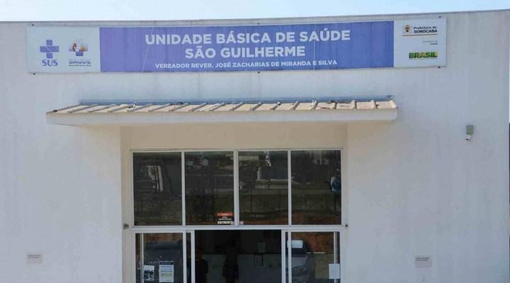 Centro de Estabilização Covid do São Guilherme foi montado na UBS do bairro.
