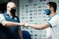 São Bento e Liga Sorocabana de Futebol de Mesa firmaram parceira nesta quarta - Divulgação