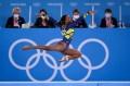 Rebeca conquistou uma medalha de prata inédita para o Brasil na ginástica  - Jonne Roriz/COB