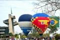 Exposição de balões no Paço Municipal em comemoração ao aniversário de Sorocaba. - Fábio Rogério