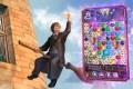 O jogo, um puzzle Match 3, requer que o jogador conecte objetos idênticos em fileiras dentro do limite de tempo. - CORTESIA