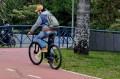 Para muitos a bicicleta é um meio de transporte. - FÁBIO ROGÉRIO (13/8/2021)