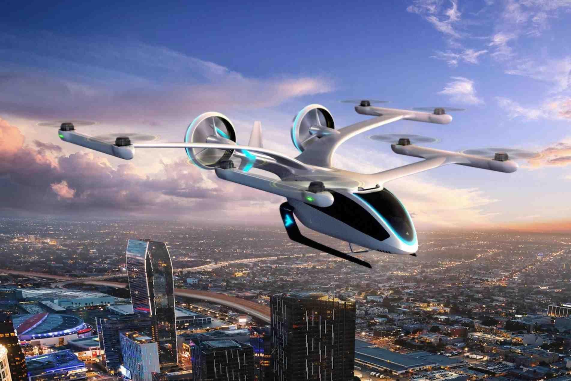 Eve, da Embraer, desenvolve veículo aéreo elétrico.