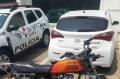 A moto constava como sendo produto de furto - Divulgação/PM