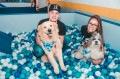 Felipe e Karin Martins com Theo e Thoma?s no Pet Day 2019 - Divulgação