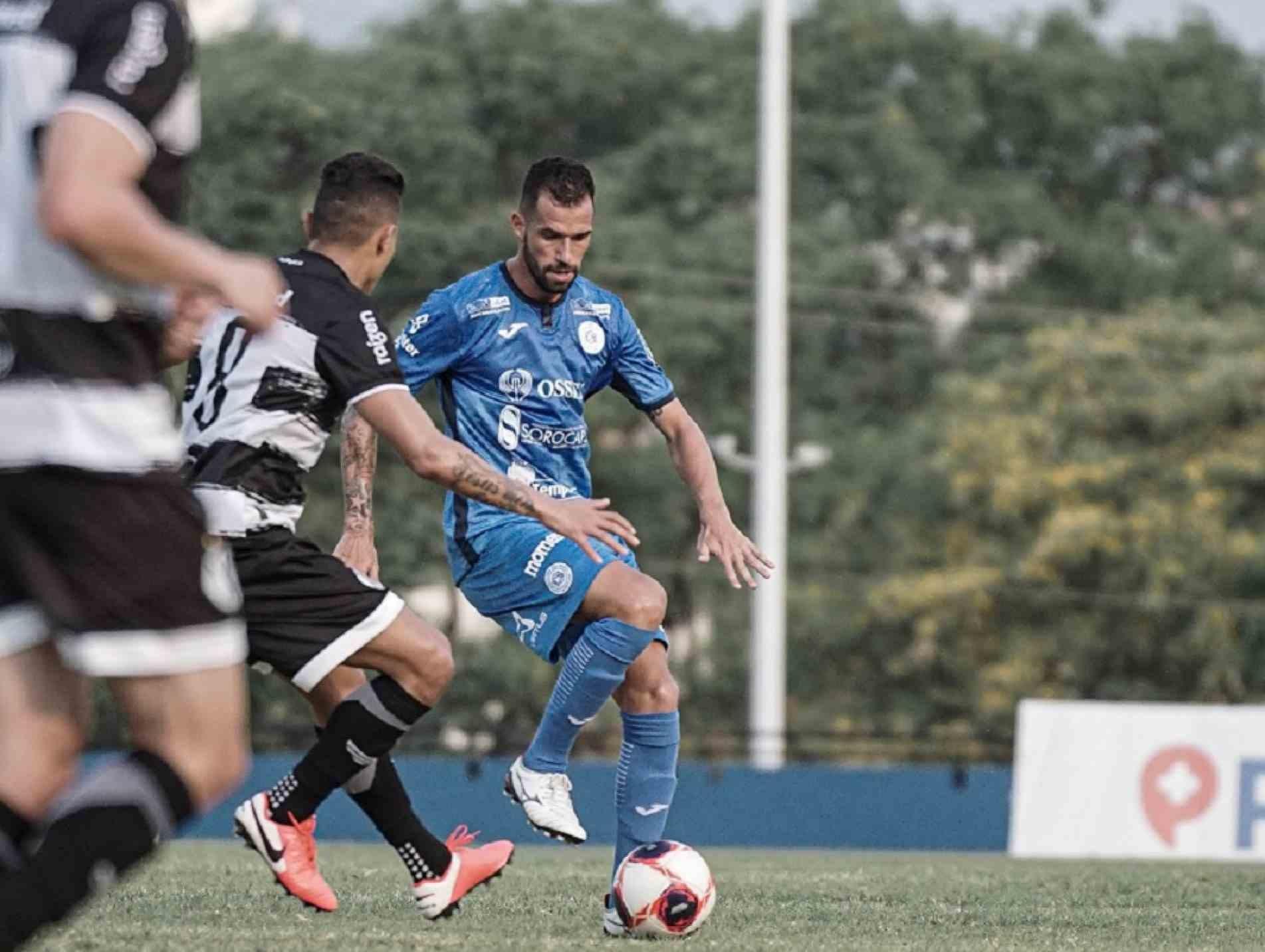 Serginho fez sua estreia no São Bento na derrota para o XV de Piracicaba